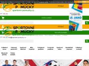 WEBOVÁ STRÁNKA PRODEX AZ s.r.o. E-shop sportovni-pomucky.cz