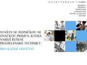 WEBOVÁ STRÁNKA Primus - pr�delensk� technika Alliance Laundry CE s.r.o.