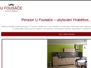 WEBOVÁ STRÁNKA Penzion U Fousáče ubytování v soukromí Znojmo