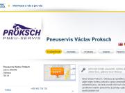 WEBOVÁ STRÁNKA Pneuservis V�clav Proksch
