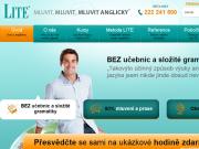 WEBOVÁ STRÁNKA Jazyková škola LITE