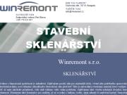 WEBOVÁ STRÁNKA Winremont s.r.o.