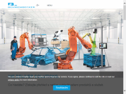 WEBOVÁ STRÁNKA Blumenbecker Prag s.r.o. Průmyslová automatizace Olomouc