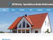 WEBOVÁ STRÁNKA Tomáš Holata AH střechy
