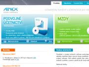 WEBOVÁ STRÁNKA ProgEco s.r.o. AINEX - účetní software