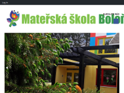 WEBOVÁ STRÁNKA Mateřská škola, Praha 10, Boloňská 313