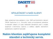 WEBOVÁ STRÁNKA DAGETT 66, s.r.o.