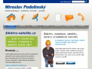WEBOVÁ STRÁNKA ELEKTRO-SATELITY.CZ Miroslav Podolínský