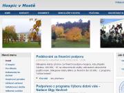 WEBSITE HOSPIC v MOSTE, o.p.s.