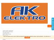WEBOVÁ STRÁNKA AK elektro, s.r.o. Prodej domácích spotřebičů Letovice