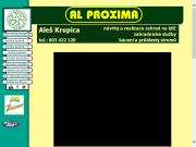 WEBOVÁ STRÁNKA AL PROXIMA s.r.o.