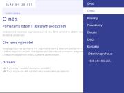 WEBOVÁ STRÁNKA Borůvka Praha o.p.s. Pomoc tělesně postiženým dětem Praha