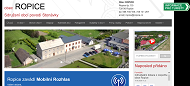 WEBOVÁ STRÁNKA Obec Ropice Obecní úřad Ropice