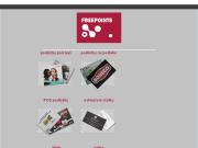 WEBOVÁ STRÁNKA Freepoints, s.r.o. Exclusivní vizitky Ražba metalickou folií