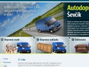 WEBOVÁ STRÁNKA Autodoprava �ev��k