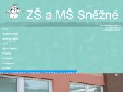 WEBOVÁ STRÁNKA Základní škola a mateřská škola Sněžné, příspěvková organizace