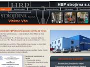 WEBOVÁ STRÁNKA HBP Strojírna s.r.o.