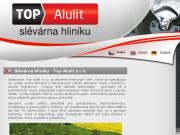 WEBOVÁ STRÁNKA TOP ALULIT s.r.o.
