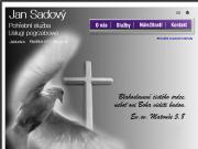 WEBOVÁ STRÁNKA Pohřební služba - Jablunkov Jan Sadový
