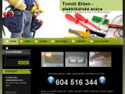 WEBOVÁ STRÁNKA Elektrikář Praha Tomáš Erben