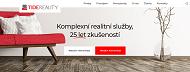 WEBOVÁ STRÁNKA TIDE REALITY, spol. s r.o. Realitní kancelář Praha 2
