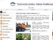 WEBOVÁ STRÁNKA Technické služby města Poděbrad s.r.o.