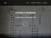 WEBOVÁ STRÁNKA Ing. Johana Otrubová