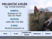 WEBOVÁ STRÁNKA Projekční ateliér Ing. Tomáš Kostohryz