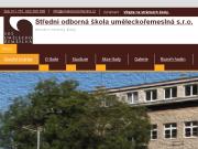 WEBOVÁ STRÁNKA Střední odborná škola uměleckořemeslná s.r.o.