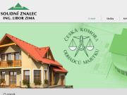 WEBOVÁ STRÁNKA Ing. Libor Zima - soudní znalec