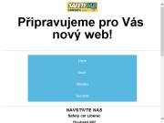 WEBOVÁ STRÁNKA Safety Car Liberec, s.r.o.