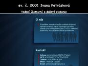 WEBOVÁ STRÁNKA Ivana Petrásková