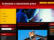 WEBOVÁ STRÁNKA René Bőhm - Svářečské a zámečnické práce