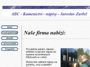 WEBOVÁ STRÁNKA Jaroslav Zav�el