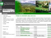 WEBOVÁ STRÁNKA Obec Janovice