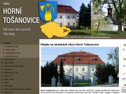 WEBOVÁ STRÁNKA Obec Horní Tošanovice