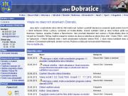 WEBOVÁ STRÁNKA Obec Dobratice