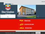 WEBOVÁ STRÁNKA Obec Sviadnov