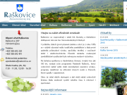 WEBSITE Obec Raskovice