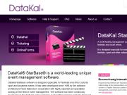 WEBOVÁ STRÁNKA Kalenda Systems, s.r.o. Datakal Starbase Světový software systém pro festivaly