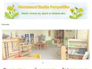 WEBOVÁ STRÁNKA Montessori mateřská škola Pampeliška s.r.o. Mateřská školka Plzeň