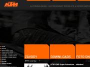 WEBOVÁ STRÁNKA KTM - Autonova Brno