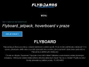 WEBOVÁ STRÁNKA Flyboarding, Hoverboard, Jetpack Praha