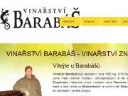 WEBOVÁ STRÁNKA Vinařství Jiří Barabáš
