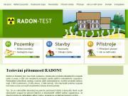 WEBOVÁ STRÁNKA Měření radonu Praha