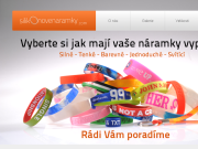 WEBOVÁ STRÁNKA Silikonové náramky IdentCORE s.r.o.