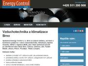 WEBOVÁ STRÁNKA Energy Control s.r.o.