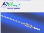 WEBOVÁ STRÁNKA ADVAMED s.r.o. zdravot.materiál pro kliniky a lékaře
