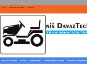WEBOVÁ STRÁNKA Daniš Davaztechnik s.r.o.