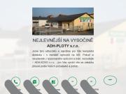 WEBOVÁ STRÁNKA ADH-Ploty, s.r.o.